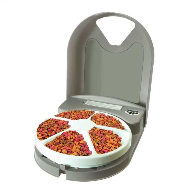 Cat Feeder Automatic - PetSafe 5 Meal Feeder