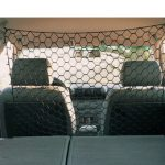 Car Net Black for pets going on holiday