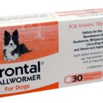 Drontal Bulk - 30 tablets Drontal Allwormer - For Dogs • Controls all gastrointenstinal worm species: Roundworm, Hookworm, Whipworm and Tapeworm • 1 tablet per 10kg • 30 Tablets