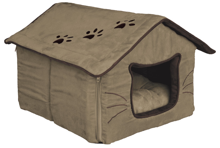 Trixie Hilla Cuddly Cave for cats