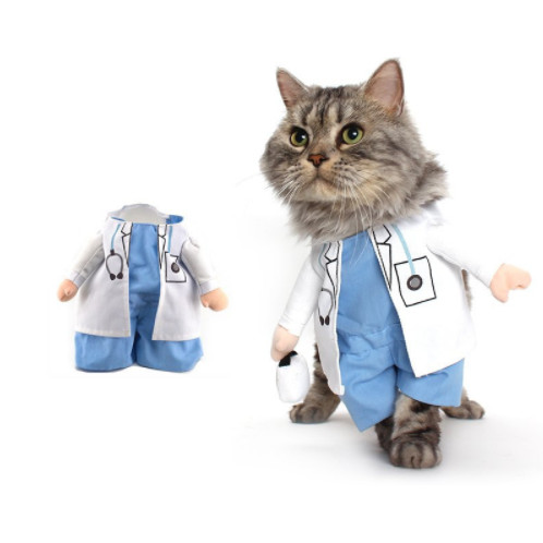 doctor Costume for dog / cats